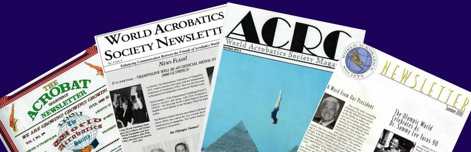 Over 50 World Acrobatics Society Newsletters Spanning 1996 - 2018!