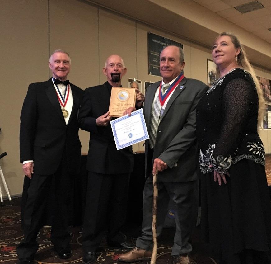 Congress banquet - David Jacobs, John Sweetland, Debbi Quaid b