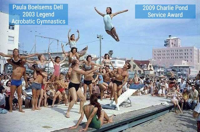 Paula Boelsems Dell 2003 Acro Gym 2009 CP Award B